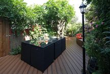 Trex Transcend Residential - Loughborough / Trex composite decking recycles 1.5 billion shopping bags each year and hasn't felled a single tree for deck manufacture during its 20-year history. Trex Transcend is the most weather resistant, low maintenance composite decking product on the market, it won't warp or splinter, it will never require staining or painting, it is fade, stain, mould, rot and scratch resistant and will look as good in 25-years as it does today.