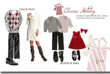 Holiday Photography Outfits