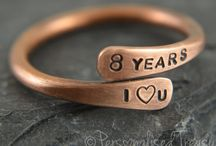 Pure bronze anniversary gifts, 8th anniversary, 19th anniversary / Gifts made from pure bronze suitable for 8th or 19th wedding anniversary