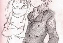 anime sketches