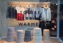 Winter warmer shop window