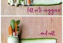 zeleninové aranžmá