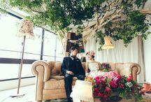 Stage -高砂- / Stage / 高砂 / crazy wedding / ウェディング / 結婚式 / オリジナルウェディング / オーダーメイド結婚式