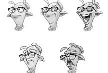 Character Design Expressions