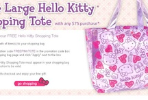 ~Crazy About Hello Kitty~ / by Anna Peel