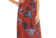 Floral Dresses & Tops