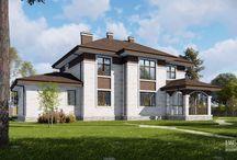 Проекты загородных домов