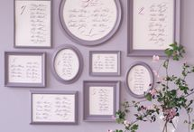 Wedding - Table plans etc / Table Plans, Escort Cards, Place Names, Table Numbers Etc