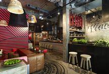 Interior design Stores, Cafe & Restaurants