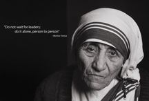 Fairy godmother/Mother Teresa