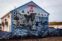 Belfast Wall Murals