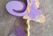 Ideas para fiesta Rapunzel