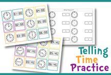 le temps (Time) / • le temps (Time) • indiquer l'heure (Telling Time)