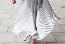 Plisse Skirt / fashion