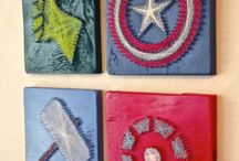 Superheroes! / Superheroes are great, let's collect them :) / by Tishina Mindemann