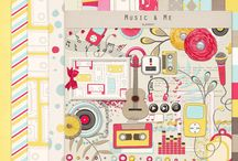 Music scrapbooking kits