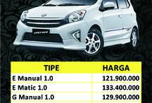 Harga Toyota Agya di Semarang / Harga Toyota Agya di Semarang