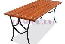 Кованые столы / Производство кованых столов для дома, дачи и сада