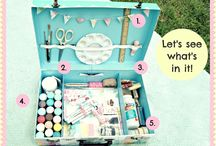 Traveling kits & tips