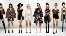 LOOKBOOK SIMS 4