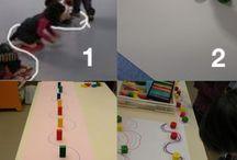 schrijfdans / kleuterwerkjes / voor een leergierig kindje om uitgedaagd te blijven