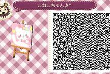 Kawaii pastel gatito qr code Ancl :3