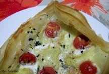 Tartes salées, Pizzas and Co...