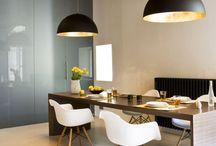 Dining room / projekty nowoczesnych jadalni