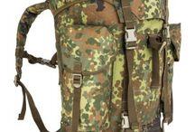 Terepmintás hátizsákok / Terepmintás hátizsákok, katonai hátizsákok, Moller rendszerű hátizsákok