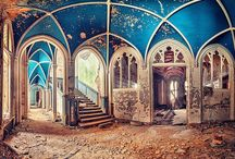 Abandoned Architecture / Urban exploration is the photography of abandoned places. On this board we like to inspire you with abandoned architecture pictures.