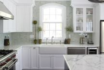 What's Cookin? / Here are some kitchens to inspire you!  Look through, decide what you like about each, and what you don't...Really think through how you use your kitchen & your home~it's not just for show!  It's where you live!