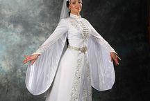 czerkiesi i Kaukaz / caucasian folk costumes