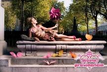 Ninfas de Ciudad Spring Summer 2011 / Tablero con imágenes de la colección Primavera Verano 2011 de la marca de moda española Divina Providencia