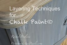 Chalk Paint & Stains