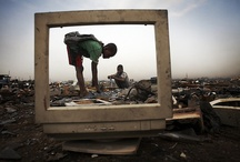 E-waste issues / E-waste is a worldwide problem.