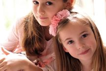 Flower Girl Hair Accessories / Beautiful accessories for your wedding flower girl including headbands, floral hair clips and bows as well as sashes and corsages