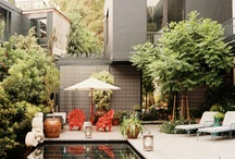 Pools and Patios / by Mrs Sonya Manning