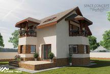 Casa pe Structura Metalica Bucuresti1 / Casa Moderna, construita pe Structura Metalica, suprafata construita 138 m2