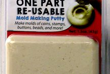 ImPRESSive Putty, Re-Usable Mold Making / ImPRESSive Putty is so easy to use! Simply PRESS your shape into the Putty or press the Putty onto your shape...let it cool...and you've made a mold!