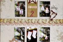 christmas layouts / by Deborah Woo