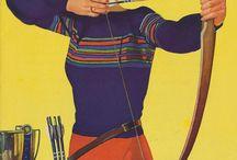 Vintage Archery Ladies
