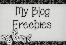 › My Blog Freebies. / Head Over To:  http://creationsbysamanthan.blogspot.com/ to download these freebies!