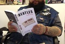 """#GotBeatles / Use the tag #gotbeatles to post photos of yourself and your friends with the book """"The Beatles And Me On Tour"""" by Ivor Davis"""