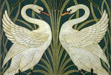 Victorian Wallpaper, Floor & Wall Tiles
