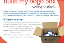 Build My BOGO Box Sweepstakes / by Rajee Pandi