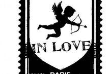 scrap tampon art postal timbre / l'art postal et les timbre en tampon scrapbooking