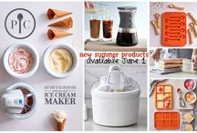 Pampered Chef Ice Cream Products
