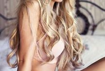Boudoir Hair / I think what I'm about here is movement, volume (lots of volume) and a tousled not-too-perfect look.