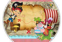 Jake e os Piratas / Kit Digital Free