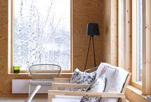 Nos gusta la madera / Curiosidades y proyectos de arquitectura realizados con madera que nos gustan.
